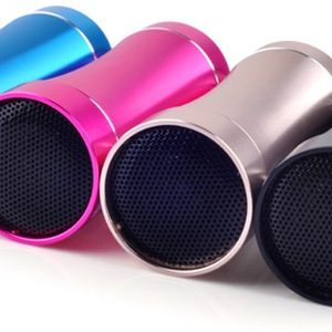 Small speakers for better sound quality